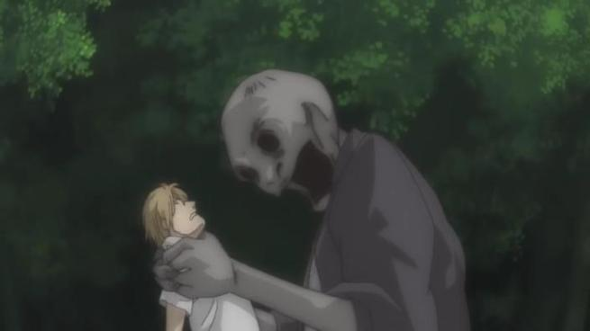 We may only be 2 episodes in but it looks like this may happen to Natsume a lot