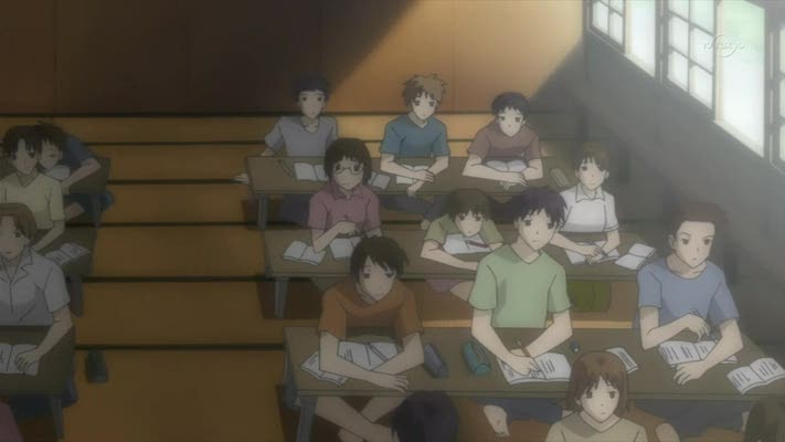 Have you ever seen a more bored looking class
