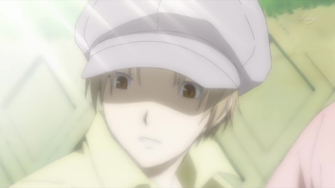 Natsume, I'm sorry but you aren't able to pull off that ridicolous hat