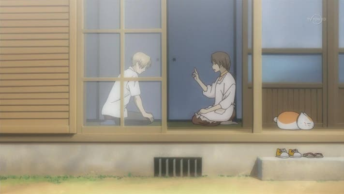 And we finish the episode with Natsume getting a clip round the ear
