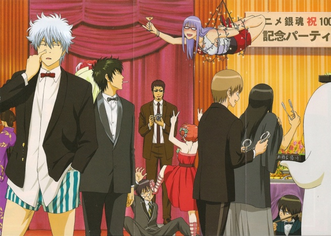Since I'm limiting this to only anime which began airing in 2008, there will be no Gintama. But it deserves a mention anyway for being so consistently funny