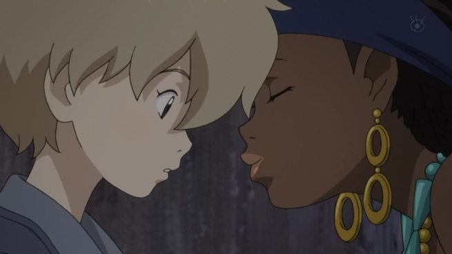Congratulations Michiko to Hatchin. You've managed lolita,yuri and interracial in the one shot