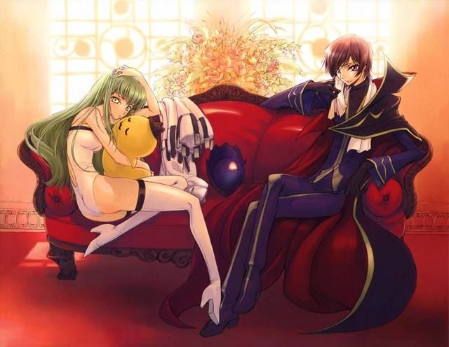 Mind you, you can't deny that Geass was a great anime