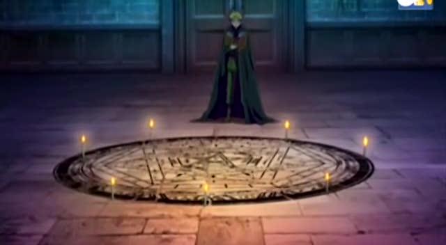 English version of Full Metal Alchemist