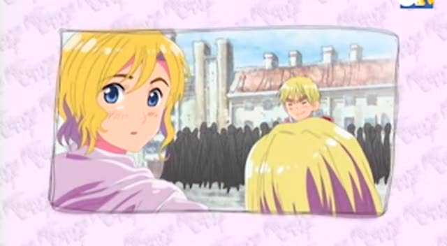 OMG, A woman in Hetalia! But she's not even a country...