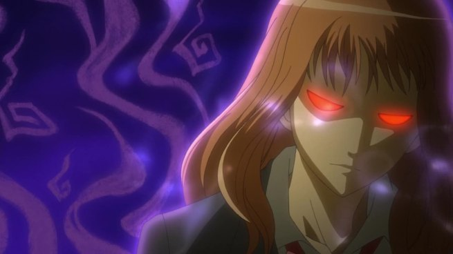 Hime's auditon for Umineko. Turned away because she was too ebul...wait this is Umineko, thats not possible...