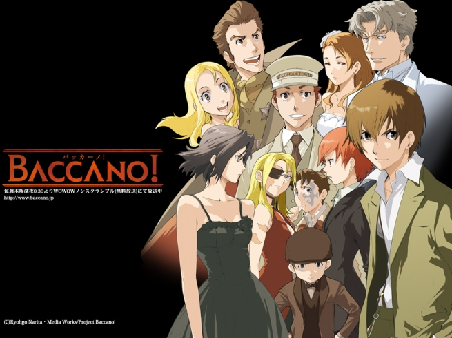 Yeah, Baccano doesn't stand a chance but a top 50 spot shouldn't be beyond it. It gets my vote anyway