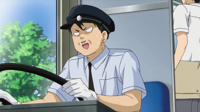 Bus drivers badly need more love in anime. If they did, maybe they would stop driving past me when I'm standing at the bus stop