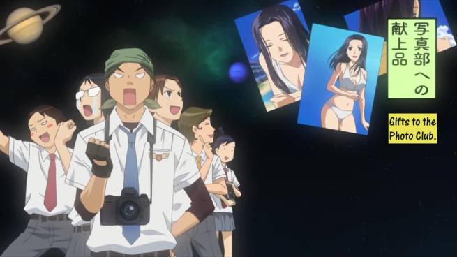 Before I watched anime, photography clubs were full of artsy idiots who liked nature and stuff. In Japan they are apparantly made up of pervs