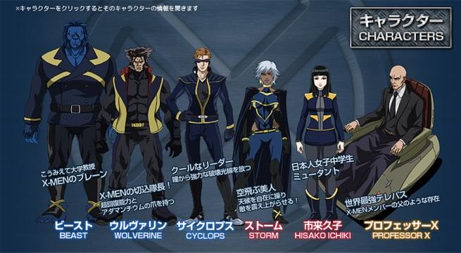 X-Men Cast