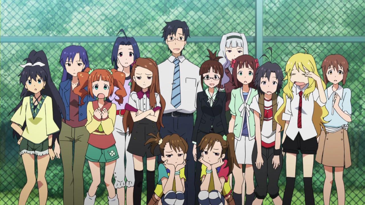 Idol M Ster Anime Characters : Kawaii b idol anime