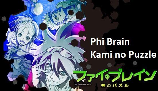 Phi Brain Kami no Puzzle